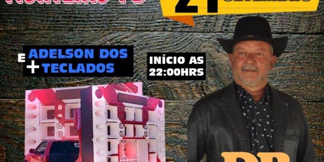 É HOJE: Delmiro Barros no Balneário o Juazeiro em Monteiro