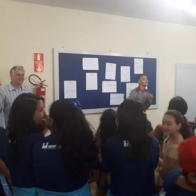 72835369_162181578221666_1053806316683788288_n Câmara de Monteiro recebe alunos da rede municipal que se preparam para fazer a prova do SAEB