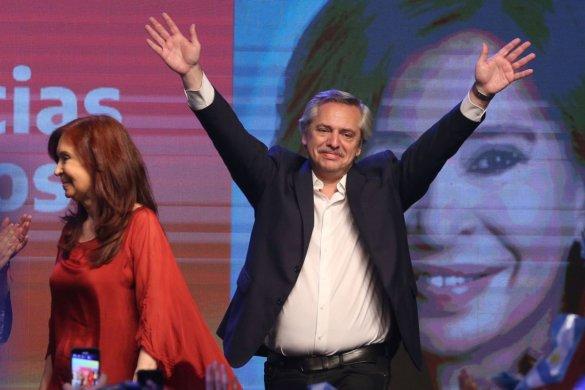 CRISTINA-585x390 Alberto Fernández e Cristina Kirchner vencem eleições na Argentina