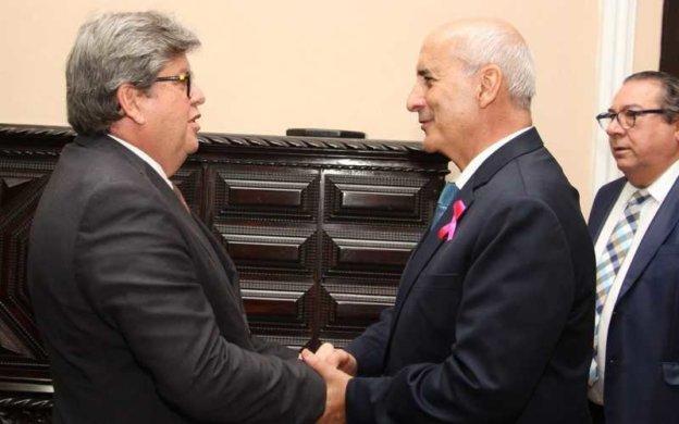 """General-Ramos-e-joao-azevedo-800x500-624x390 Ministro de Bolsonaro sinaliza que pode fazer parcerias com o governador João Azevêdo: """"Somar"""""""