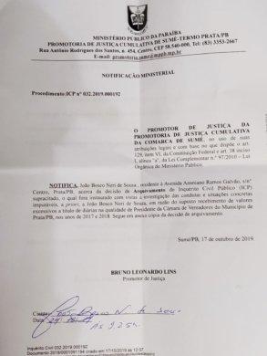 IMG-20191024-WA0143-293x390 JUSTIÇA ARQUIVA DENÚCIA CONTRA O VEREADOR BOSCO NERI
