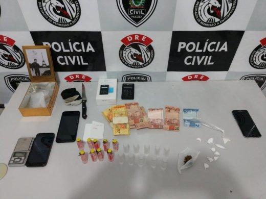 drogas-cg-520x390 Grupo é preso suspeito de vender drogas em casa de shows na PB