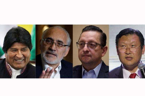eleicoes_bolivia-585x390 Resultados parciais de eleições na Bolívia provocam tensão no país