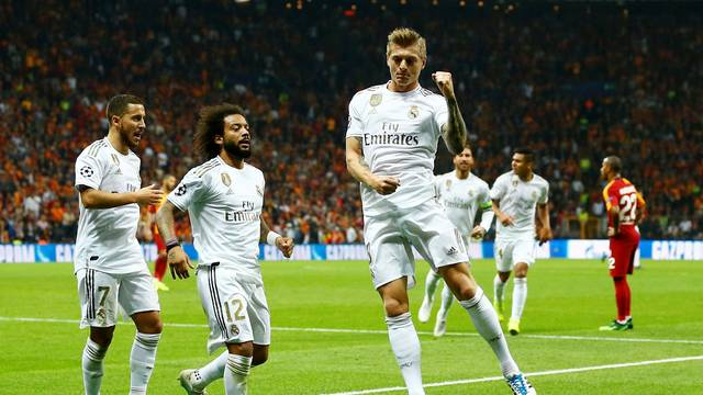 real-madri Real Madrid vence o Galatasaray em Istambul pela Liga dos Campeões da Uefa