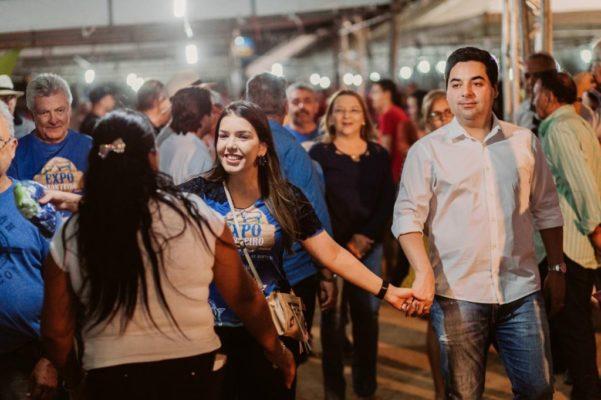 ANA-FEIRA-601x400 Prefeita Anna lorena recebe carinho do público expectador na Expo Monteiro