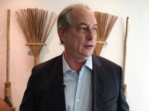 CIRO-GOMES Na Paraíba, Ciro Gomes acusa Lula de cometer nova fraude política