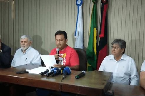 PT-RICARDO PT manda recado a Ricardo: apoio em 2020, só se ele for o candidato