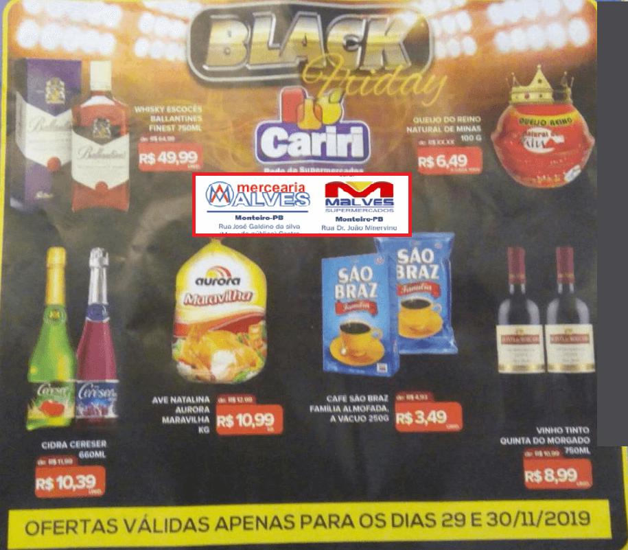 black-ma É BLACK FRIDAY É OFERTAS! Malves Supermercados em Monteiro