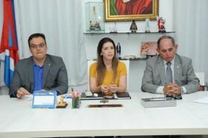 lorena-reunião Lorena recebe prefeitos do Cariri e representantes do MPPB para discutir extinção dos lixões