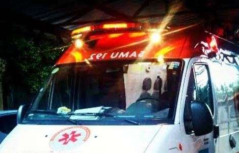 samu-sirene Mulher grávida se envolve em acidente de trânsito em Monteiro