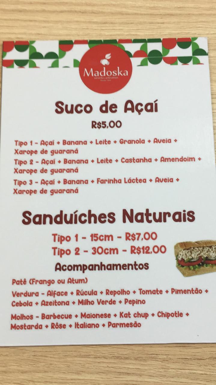 IMG-20191209-WA0310 Agora na Madoska temos sanduíches naturais!