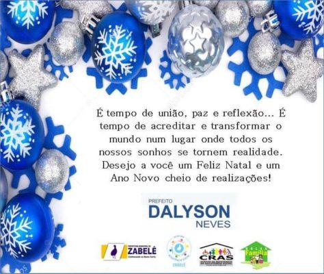 ZABELE-CONVITE-474x400 Prefeitura de Zabelê distribuirá cesta básica natalina aos beneficiários do programa Bolsa Família