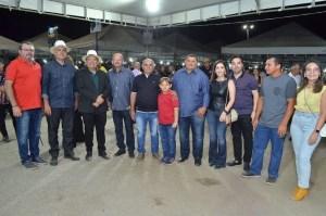 ana-lorena Ao lado da prefeita Lorena, Adriano Galdino participa da 14ª Exposição de Animais em Monteiro