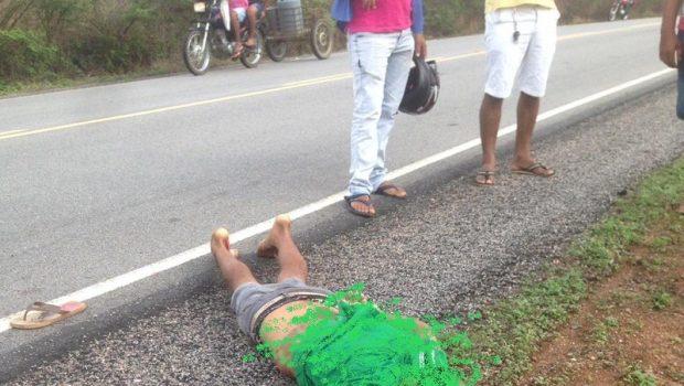 CORPO Corpo de um homem é encontrado às margens de rodovia na PB