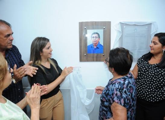 analorena Prefeita Ana Lorena entrega reforma e ampliação da USF 04 da Vila Santa Maria, em Monteiro