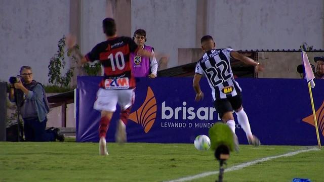 campinense Campinense cai na primeira fase da Copa do Brasil em bom jogo contra Atlético-MG