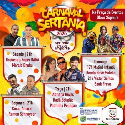 carnaval-400x400 CARNAVAL DE SERTÂNIA: Festa vai contar com Pedrinho Pegação, Ramon Schnayder e Spok Frevo