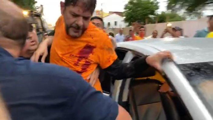 cid-gomes-baleado-700x394 Senador Cid Gomes tenta entrar em batalhão da polícia com retroescavadeira e é baleado