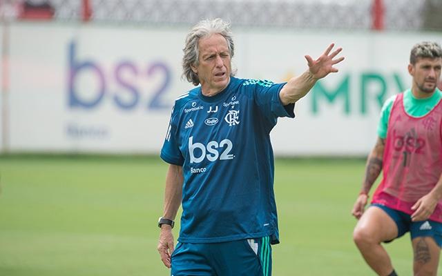 jorge-jesus-9 Flamengo realiza último treino nesta terça antes da semifinal contra o Fluminense