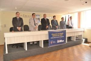 CAMARA-SIMORION Câmara de Monteiro sedia 1º Encontro de Direito Eleitoral do Cariri
