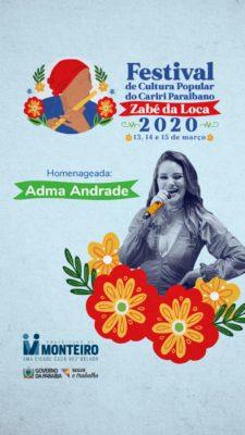 Fest-Bann-1-225x400 XI Festival de Cultura Popular do Cariri - Zabé da Loca tem atrações divulgadas