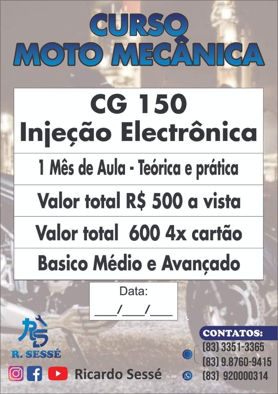 IMG-20200313-WA0309 Em Monteiro: Curso Moto Mecânica tem início neste sábado (14)