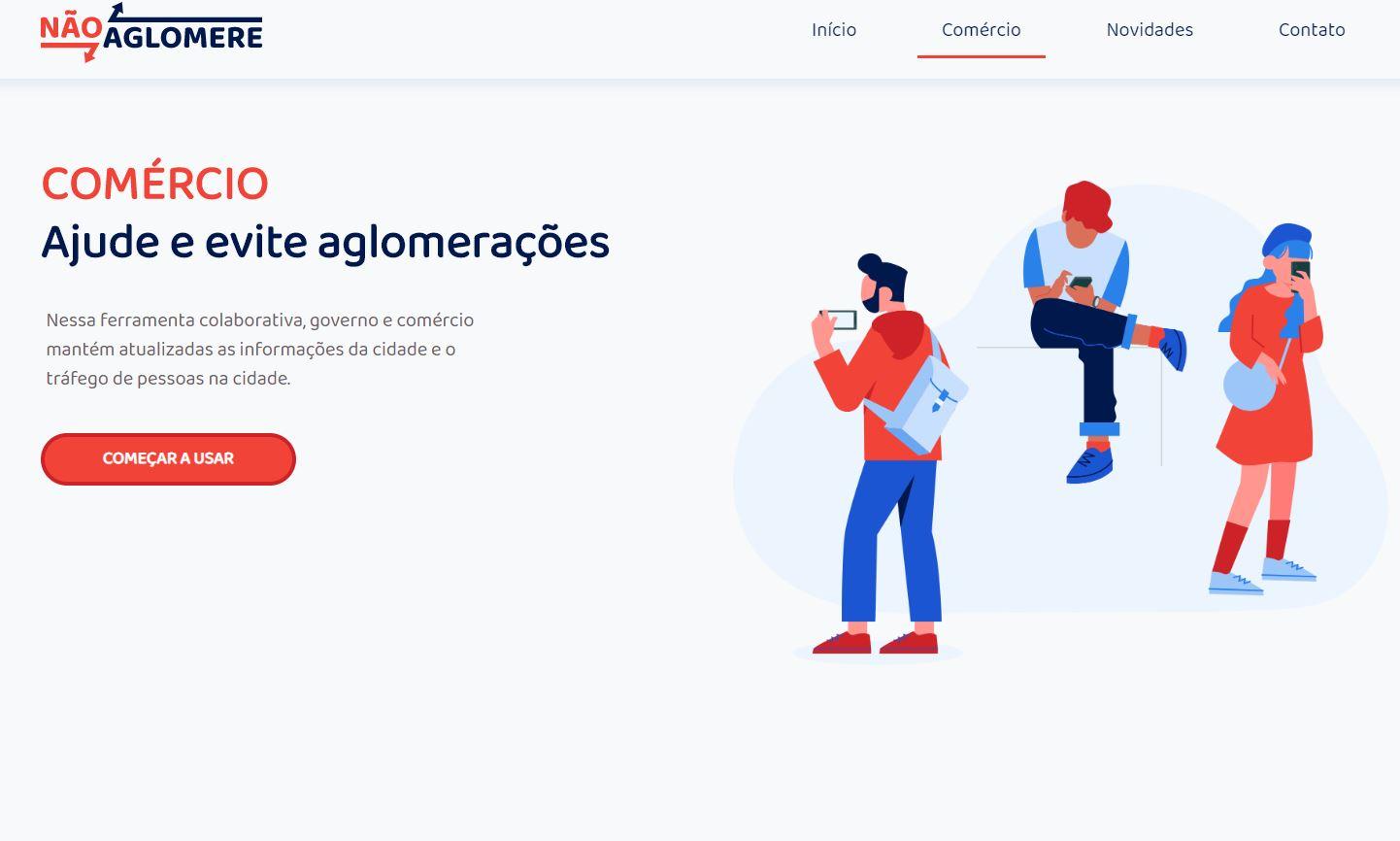 aglomera-666x400 MONTEIRO: Jovens criam aplicativo para enfrentar quarentena com fluxo de pessoas nos comércios do Cariri