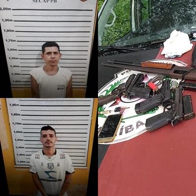 ffffffffffffff Apenados fogem da cadeia pública de São João do Cariri e são recapturados pela PM