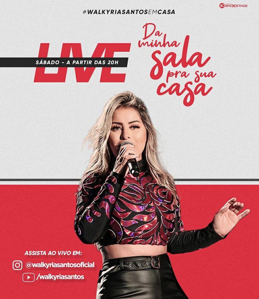 """walkoroa-346x400 Walkyria Santos fará live show neste sábado intitulada""""Da minha sala para sua casa"""""""