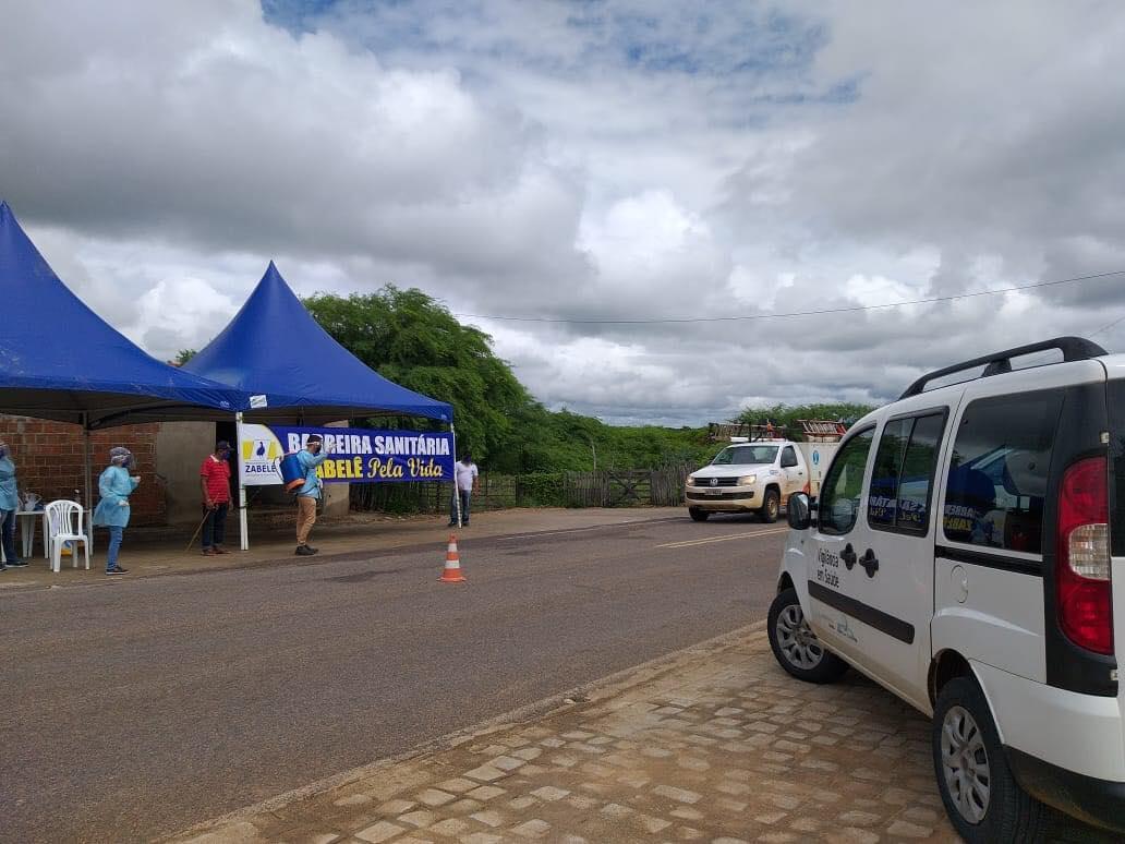 94689803_1613667175462221_4594493766852673536_o Prefeitura de Zabelê instala barreira sanitária para prevenção do coronavírus