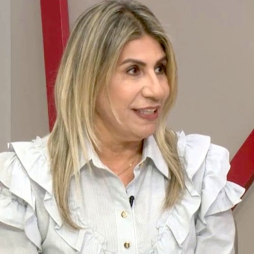 ednace-henrique Edna Henrique está internada há quase dois meses, após apresentar problemas cardíacos mas trabalhando online