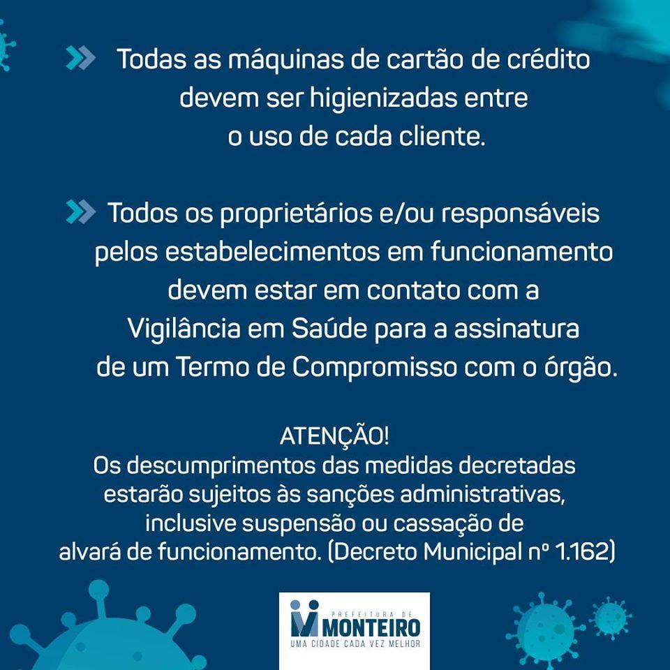 3-1 Monteiro contra o Covid-19 conheça as principais medidas decretadas