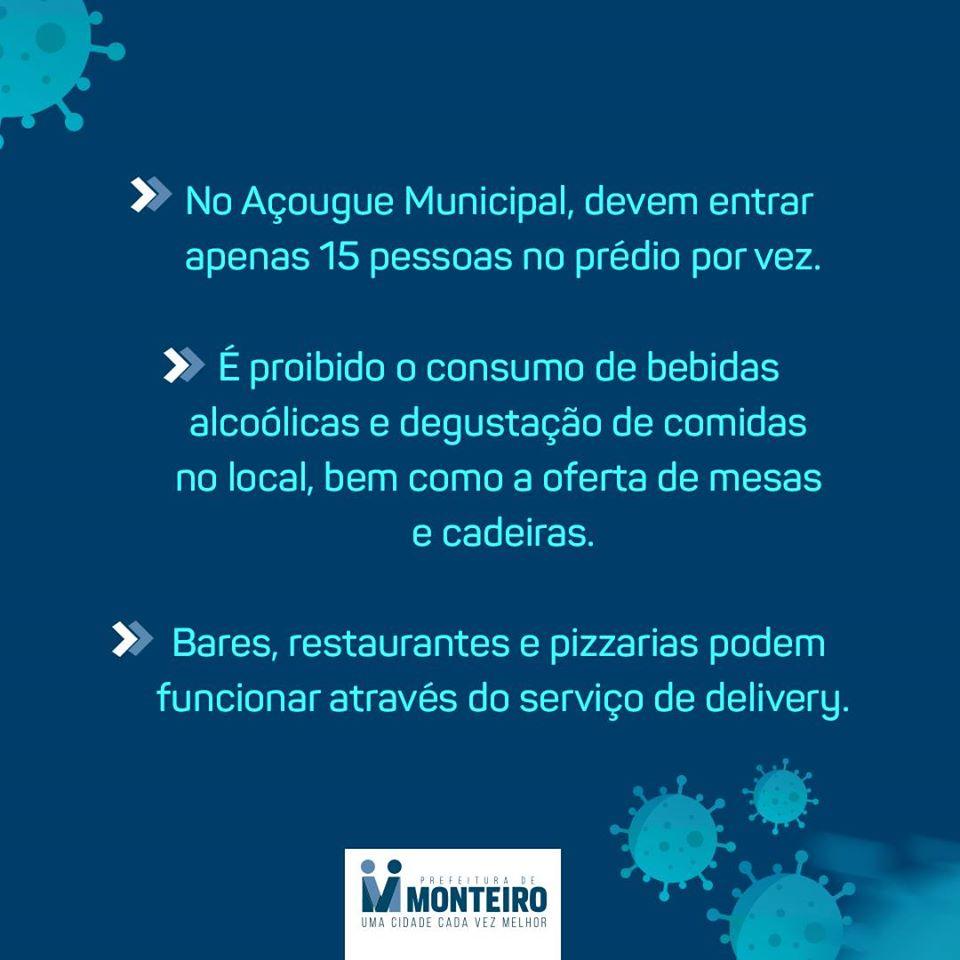 4-1 Monteiro contra o Covid-19 conheça as principais medidas decretadas