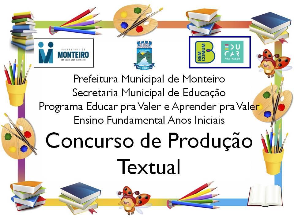 Alunos-da-Rede-Municipal-de-Monteiro-participam-de-concurso-de-Produção-Textual-2 Alunos da Rede Municipal de Monteiro participam de concurso de Produção Textual