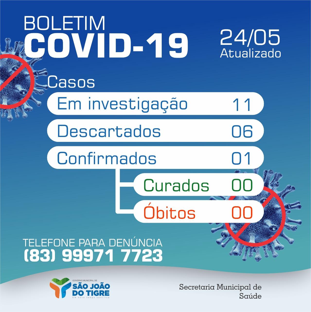 Boletim-de-são-joão-do-tigre São João do Tigre segue sem novos casos de coronavírus