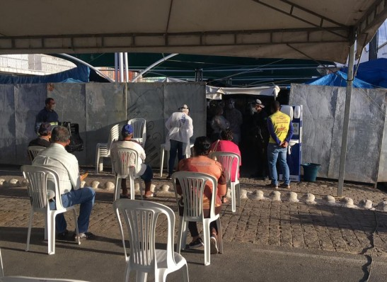 FEIRA Mais uma vez Prefeitura de Monteiro dá exemplo de organização no combate ao Covid - 19