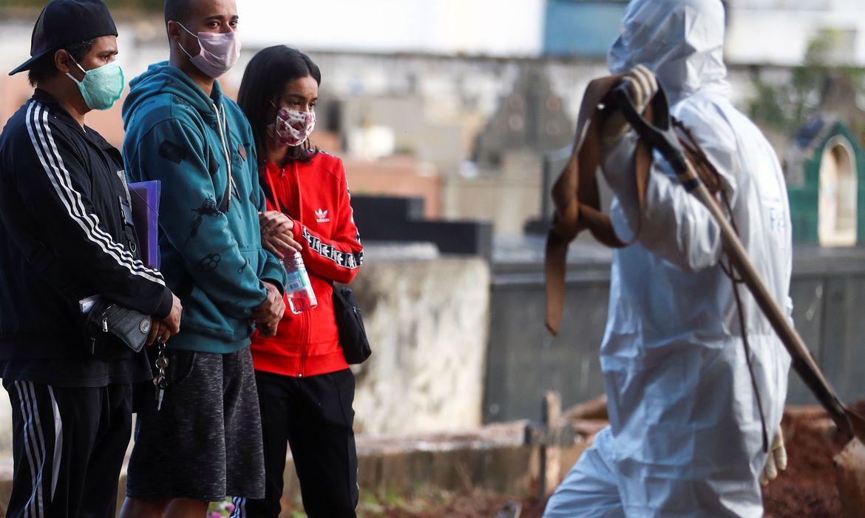 brasil-casos Brasil registra 145 mil casos de covid-19 e 10.627 mortes