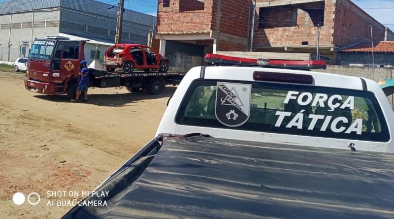 desmanche Polícia Militar desarticula desmanche ilegal de veículos e prende dois suspeitos em Campina Grande
