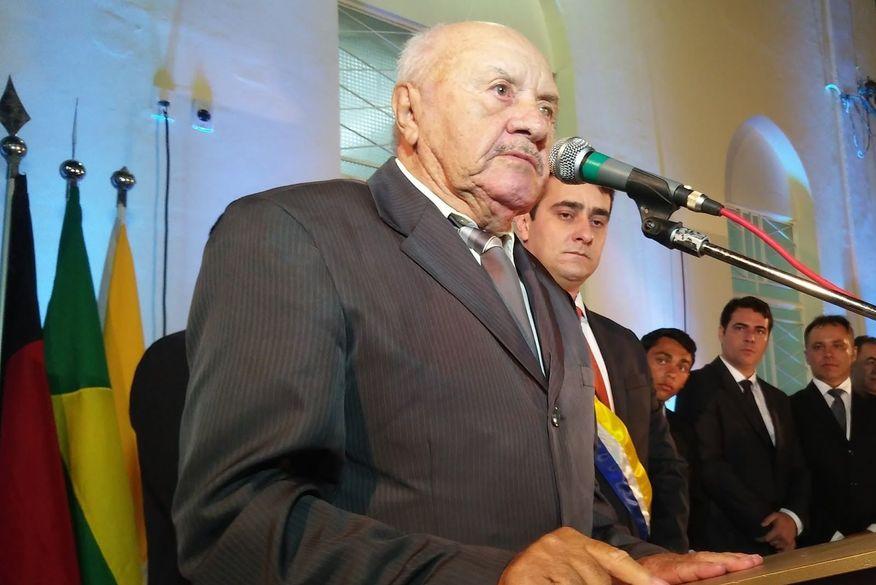 ex-prefeito Morre aos 89 anos o primeiro prefeito de Cubati, Zezinho Preá, vítima de Covid-19