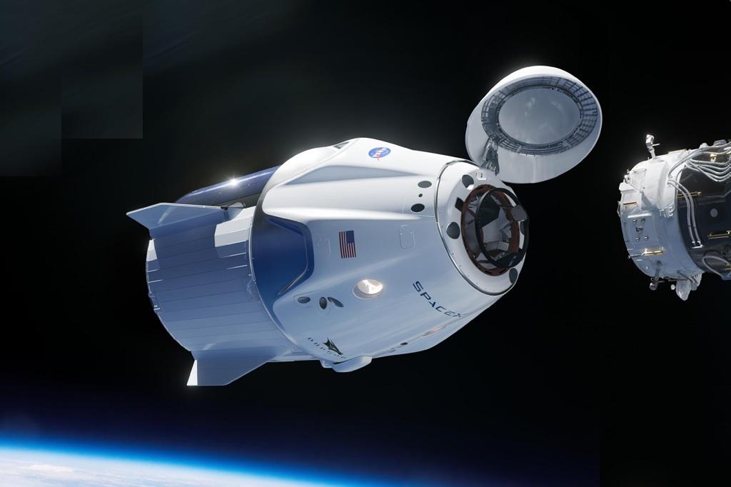 si_nasa_crew_dragon Nasa envia astronautas para o espaço em lançamento histórico neste sábado