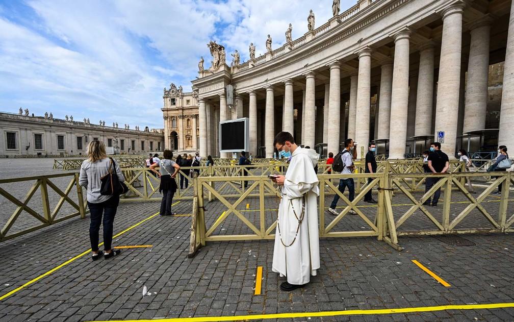 vaticano3 Vaticano reabre a Basílica de São Pedro após mais de dois meses fechada ao público