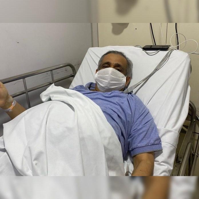 DEPUTADO Deputado estadual Edmilson Soares é internado às pressas após sofrer uma trombose