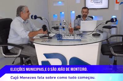 EDVALDO-REIS-CAJO-MENEZES Presidente da Câmara de Monteiro resgata história do São João do Monteiro