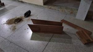 IGREJA Criminosos invadem igreja na cidade de Amparo e fazem bagunça