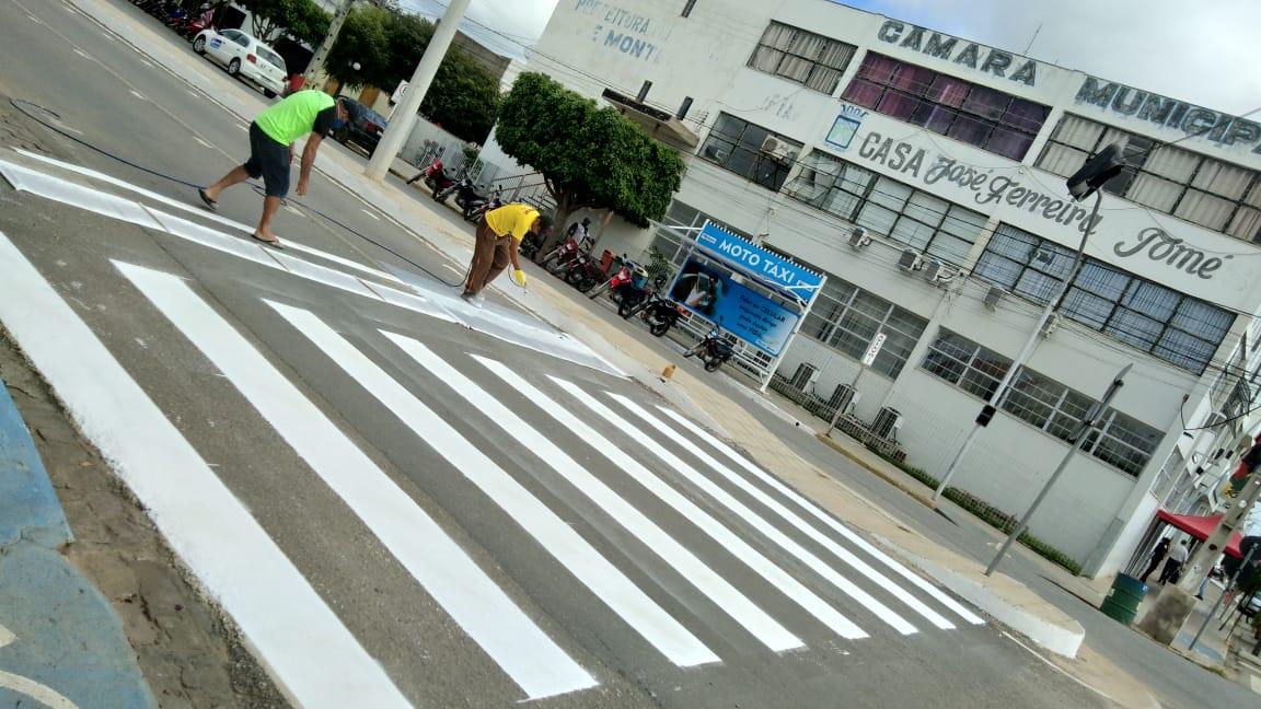 MONTRAN-realiza-revitalização-da-sinalização-horizontal-nas-avenidas-do-município-de-Monteiro-5 MONTRAN realiza revitalização da sinalização horizontal nas avenidas do município de Monteiro