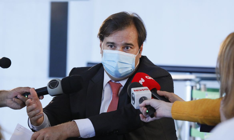 RODRIGO-MAIA-1 Bolsonaro quer 'transformar o parlamento em um anexo do Palácio do Planalto', diz Maia