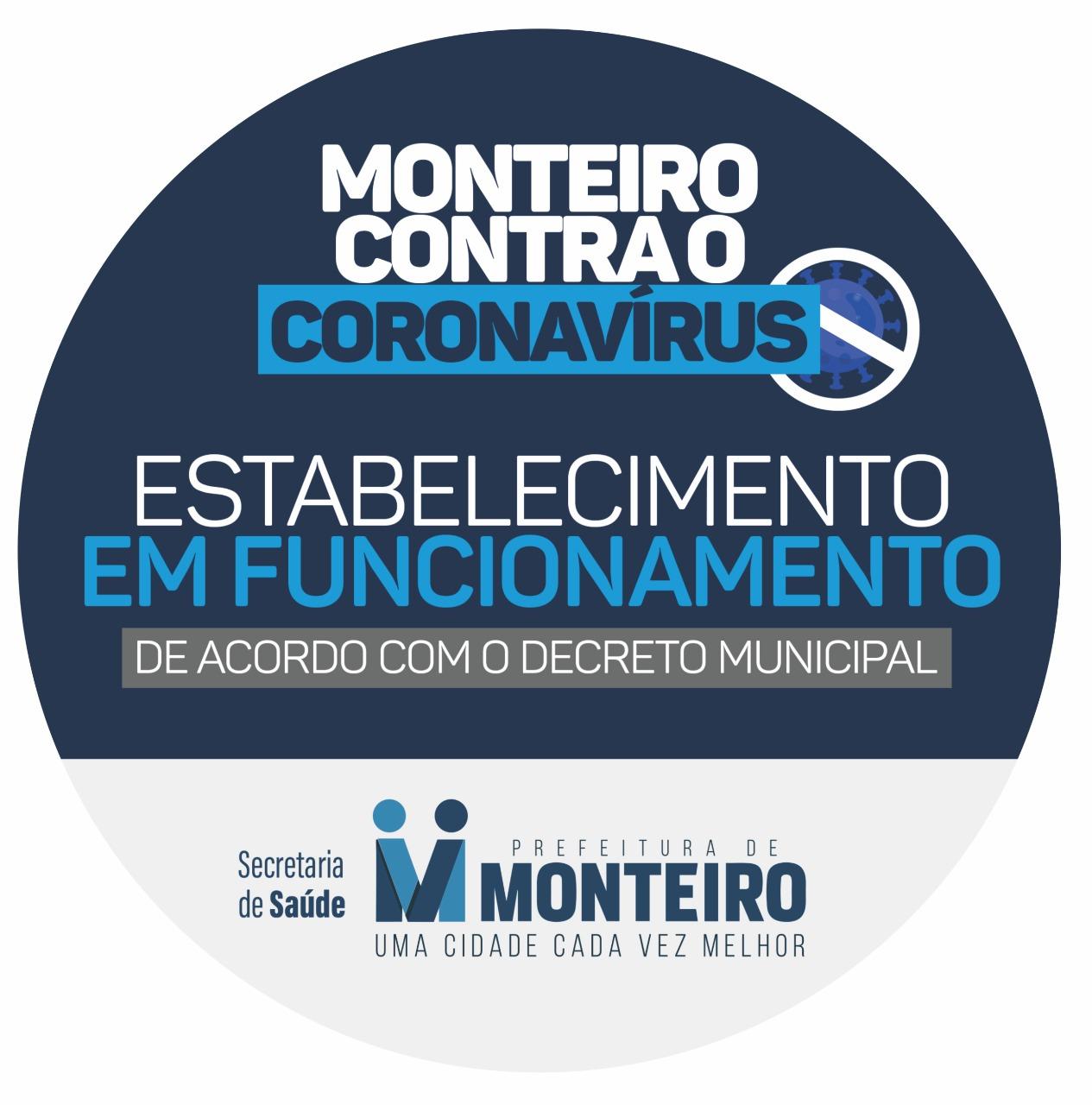 """Selo CIDADE PREVENÇÃO: Anna Lorena lança """"Selo de Segurança em Prevenção"""" para estabelecimentos comerciais de Monteiro"""