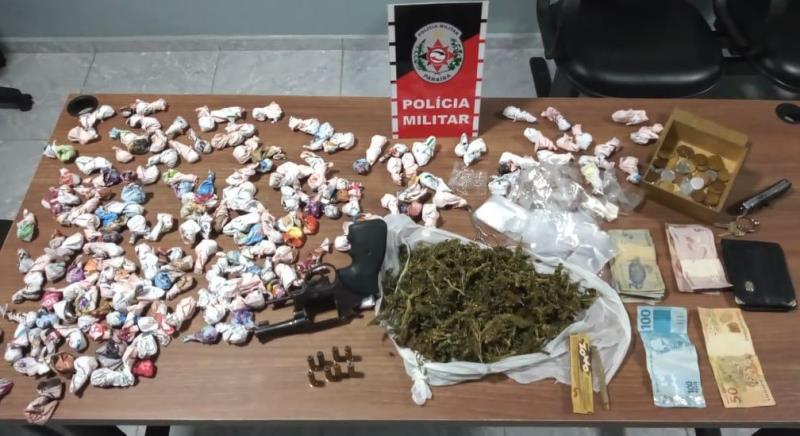 cepmotos Polícia Militar prende, pela quarta vez, suspeito de tráfico de drogas com arma de fogo em Campina Grande