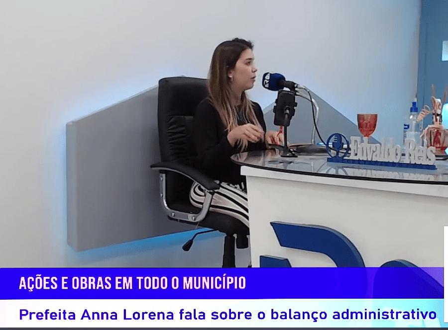 lorena-entrevista Em Entrevista, prefeita Anna Lorena fala sobre ações do governo e do combate ao Covid-19