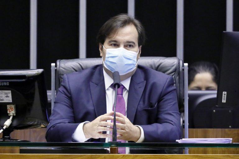 rodrigo-maia Maia quer obrigar governo a dar mais transparência aos dados da Covid-19